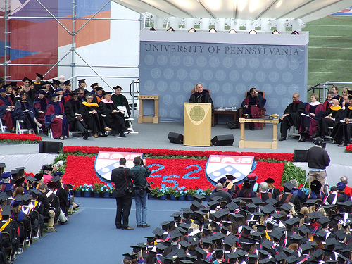 Congratulations Class of 2010 (and humorous highlights from past Penn commencement speeches)!